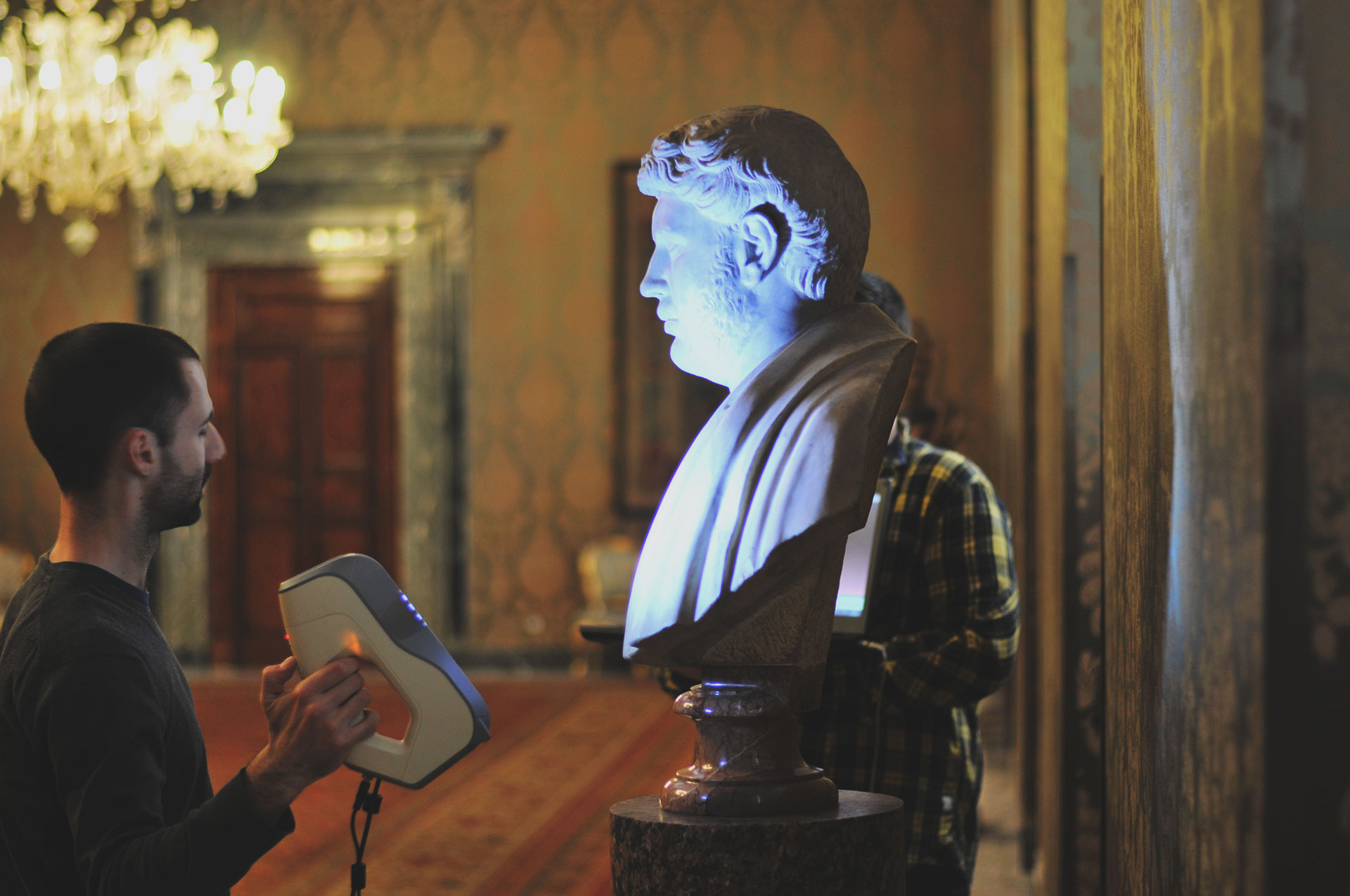 Scansione busti, Palazzo del Quirinale